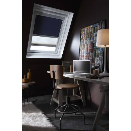 store occultant compatible velux store enrouleur occultant chocolat compatible velux with store. Black Bedroom Furniture Sets. Home Design Ideas