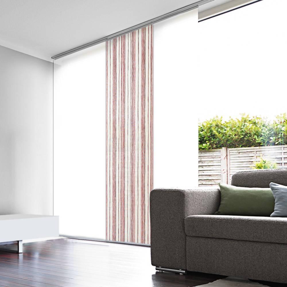 panneau japonais tamisant rayure. Black Bedroom Furniture Sets. Home Design Ideas