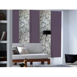 panneau japonais voile blanc. Black Bedroom Furniture Sets. Home Design Ideas