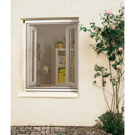 Moustiquaire Enrouleur PVC Recoupable pour Fenêtre