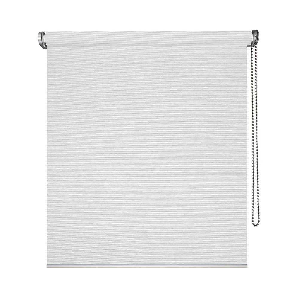 Blanc L49 x H190cm madecostore Store Enrouleur Tamisant Tissu Straight