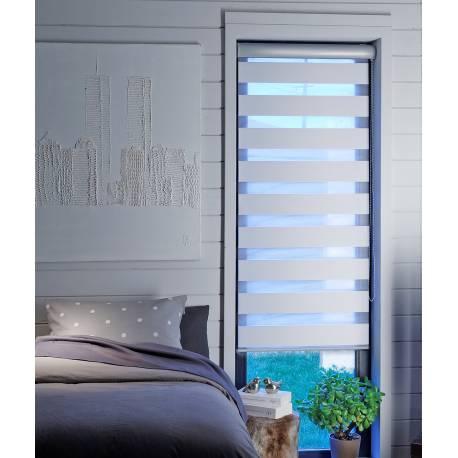 Store Enrouleur Jour Nuit - Semi-coffre Aluminium