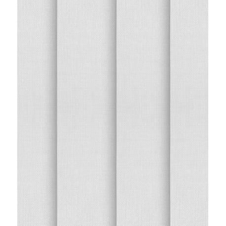 Lot de 5 Lamelles verticales 89mm Tamisant Non-Feu M1 pour Store californien