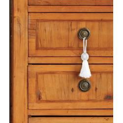 Gland de clé avec pompon pour accessoiriser meubles et objets - gamme Eléments V.créations