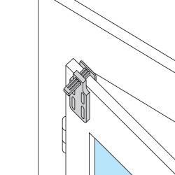 U10 : Supports auto-serrants transparents