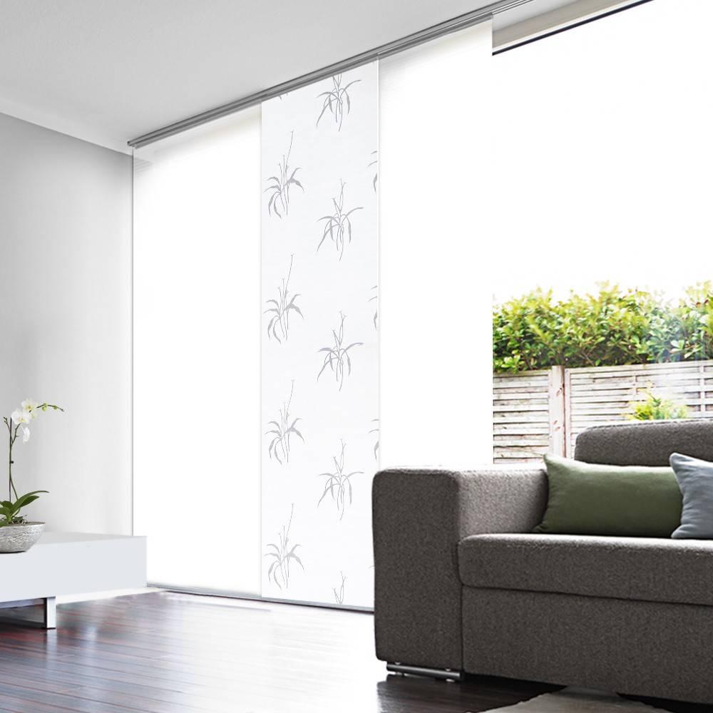 panneau japonais voile blanc d vor epi. Black Bedroom Furniture Sets. Home Design Ideas