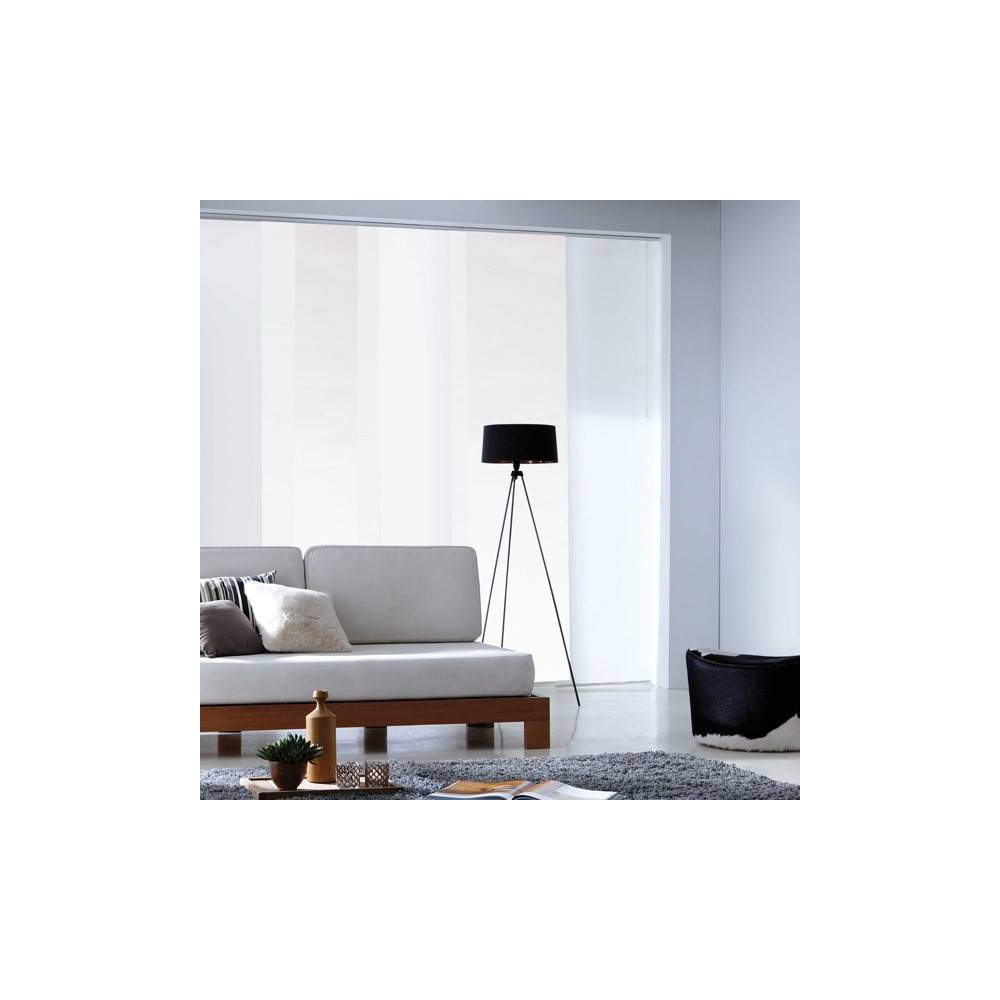 panneau japonais tamisant blanc d vor art d co. Black Bedroom Furniture Sets. Home Design Ideas