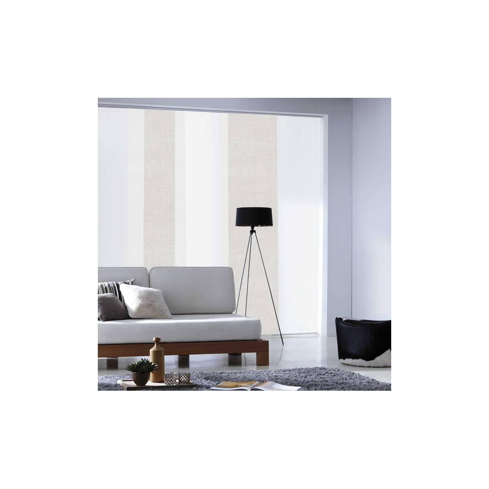 panneau japonais tamisant uni soft beige. Black Bedroom Furniture Sets. Home Design Ideas