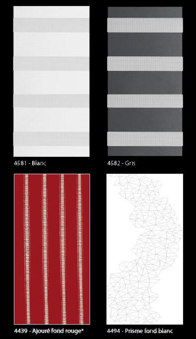 Cloison japonaise couleurs