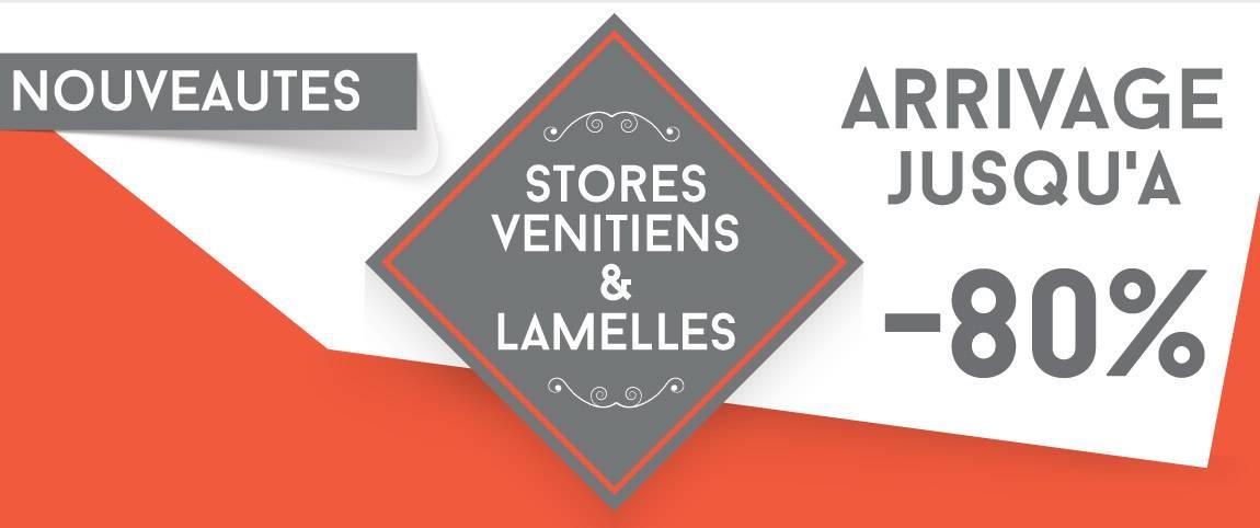 Stores lamelles verticale - Nouveaux coloris et références en stock